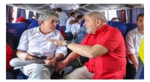 Ricardo Coutinho visita Lula nesta quinta na carceragem da Polícia Federal em Curitiba