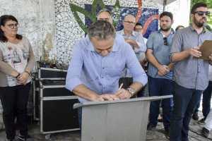 Luciano Cartaxo autoriza obras e Pedro II ganhará ciclovia requalificada e iluminação em LED