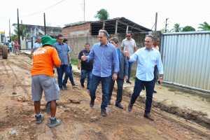 Luciano Cartaxo autoriza início das obras do 'Mais Pavimentação' no Geisel e investe em infraestrutura