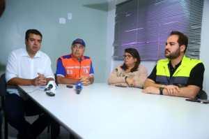 Secretarias fazem balanço e realizam coletiva para informar sobre ações da PMJP durante as chuvas
