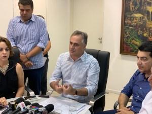 Durante coletiva, Cartaxo elogia  bom senso de João ao desembargar Parque Sanhauá e apresenta documentos do Iphan Nacional que liberam a obra