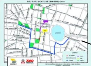 Semob-JP modifica circulação do tráfego no Centro para os shows do 'São João do Jeito da Gente'