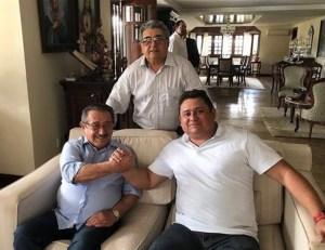 Maranhão revela encontro com Wallber Virgolino para discutir filiação ao MDB e candidatura à PMJP