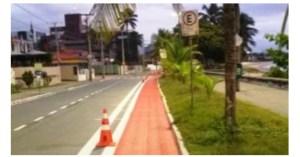 PMJP entrega ciclofaixa na Avenida João Maurício e trecho terá binário com nova faixa na Edson Ramalho