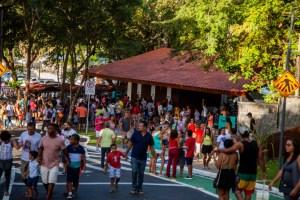 Novo Parque da Bica integra programação do AnimaCentro e reúne pais e filhos neste domingo