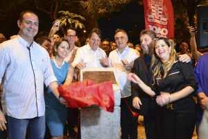 Cartaxo entrega Praça Pedro Gondim e PMJP chega a 49 espaços públicos de lazer construídos ou revitalizados