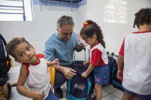 Cartaxo entrega creche com novo padrão e oferece mais conforto e qualidade para atender às crianças do Rangel