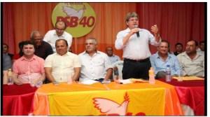 BASTIDORES: João e Edvaldo Rosas são convocados para reunião com presidente nacional do PSB