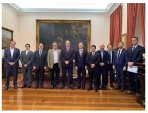 Aguinaldo Ribeiro se reúne com governador do RJ, Wilson Witzel, para tratar sobre a Reforma Tributária