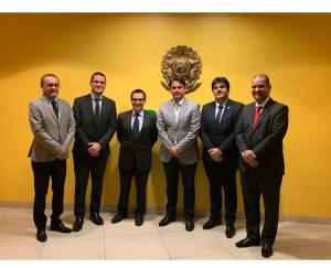 Bruno Farias e comitiva paraibana se reúnem com Câmara de Comércio Brasil-Califórnia e grupo de investidores