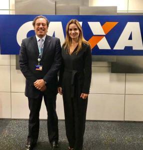 """Daniella Ribeiro sobre superintendência da Caixa em CG: """"Representa desenvolvimento da economia e progresso para a Paraíba"""""""