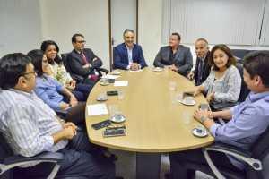 Cartaxo recebe integrantes do Fórum dos Administradores Tributários e iniciativa da PMJP será exemplo em evento