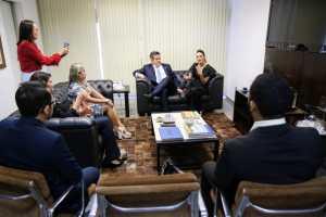 Senador Ciro Nogueira destaca importância do projeto Você no Senado e parabeniza Daniella por iniciativa