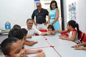 Maior programa da educação infantil da Historia de João Pessoa chega a 67 unidades