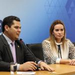 """""""O projeto de Daniella é um bom exemplo para os demais senadores"""", declara Davi Alcolumbre sobre 'Você no Senado'"""