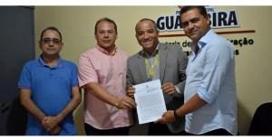 Prefeito Marcus Diogo e Banco do Brasil celebram contrato de prestação de serviços de pagamentos a fornecedores na cidade de Guarabira