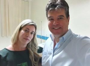 Esposa de Ruy Carneiro descobre câncer e passa por cirurgia no Hospital Laureano