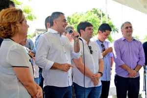 Luciano Cartaxo entrega requalificação do Mercado de Jaguaribe e espaço se torna um polo de comércio, cultura e lazer