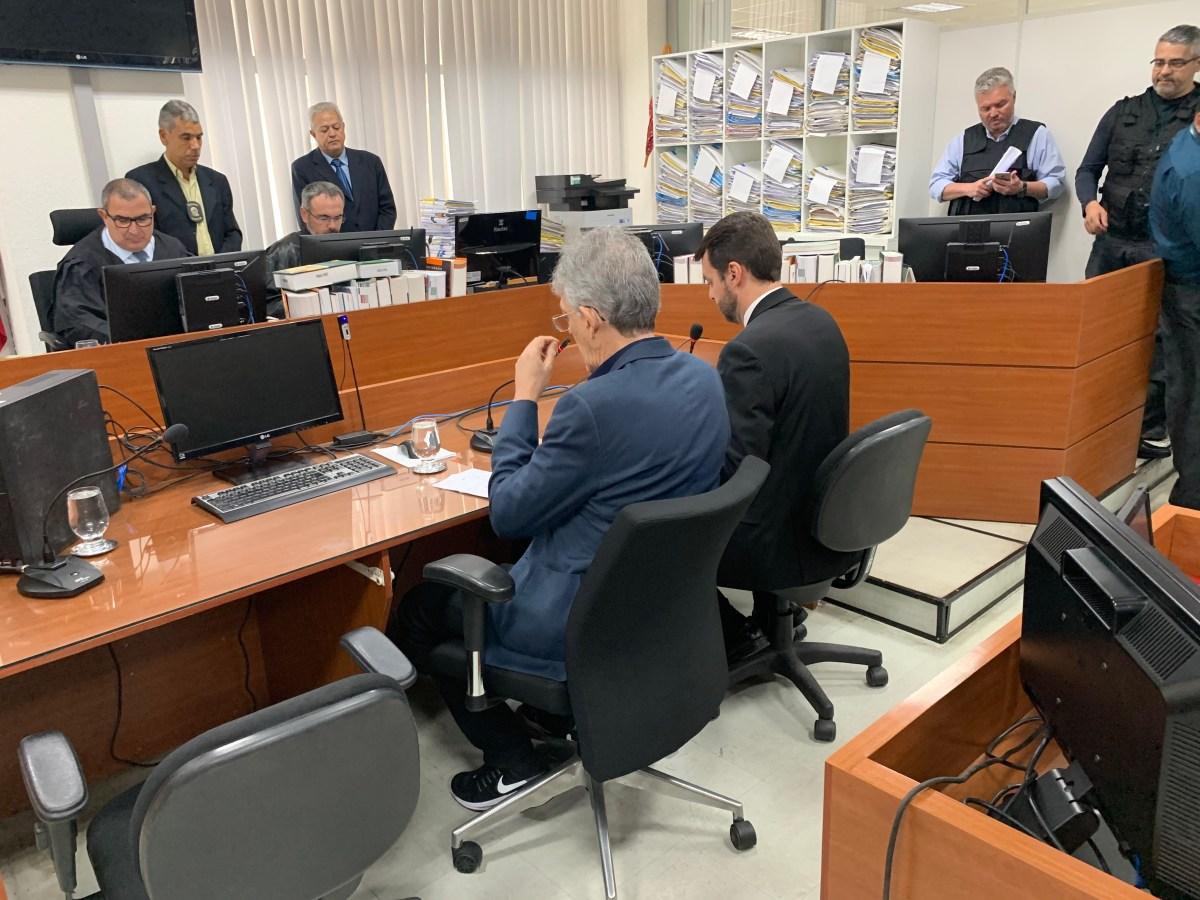 Audiência de custódia de Ricardo Coutinho