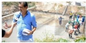 Prefeito Marcus Diôgo acompanha as obras de construção da ponte de acesso Cordeiro/Bairro Novo e destaca importância das ações desenvolvidas em Guarabira