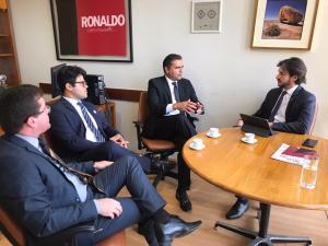 EM GUARABIRA: Prefeito Marcus Diôgo, confirma emenda de 1 milhão de reais para a saúde do Município, destinadas pelo Deputado Federal Pedro Cunha Lima.
