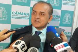 Presidente da CMJP diz que aumento do número de vereadores deve ser votado até segunda-feira