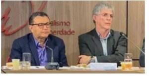 Atolado em denúncias da Calvário, Ricardo falta a evento da fundação que preside no PSB