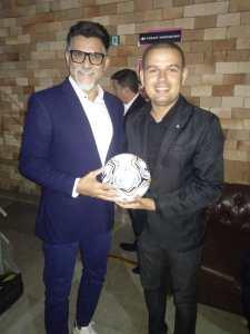 Ruan Martins prestigia o lançamento do campeonato paraibano 2020