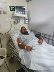 Vereador de Bayeux é internado às pressas para cirurgia de emergência