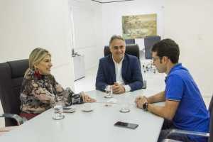 Luciano Cartaxo recebe visita da deputada federal Edna Henrique e agradece destinação de emendas para a área da saúde