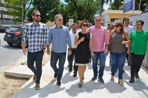Cartaxo acompanha obras da Avenida Passeio Epitácio Pessoa e trabalhos avançam para modernizar e humanizar o principal corredor da cidade