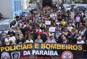 Polícias anunciam Assembleia Geral, paralisação e operação padrão nesta quarta-feira de fogo na Paraíba