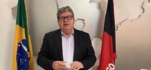 """Governador anuncia continuidade do isolamento social na Paraíba: """"É fundamental para evitar colapso na saúde"""""""