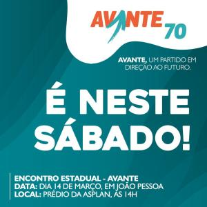 Avante-PB realiza encontro estadual com participação de lideranças de todo estado e presença do presidente Nacional