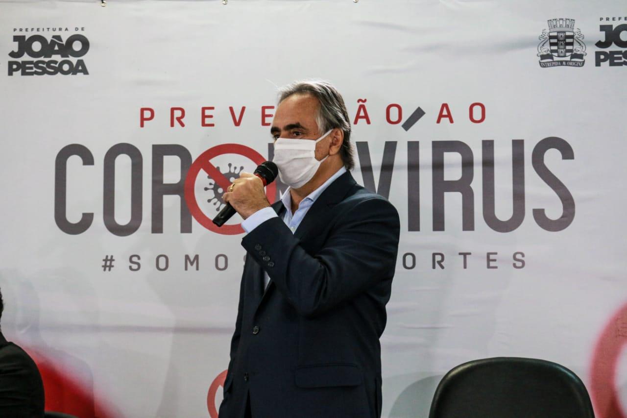 Em novo decreto, PMJP disciplina filas de banco e obriga uso de máscaras em espaços públicos