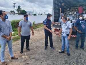 Prefeitura de João Pessoa começa a entrega das 4 mil cestas nutricionais para ambulantes, catadores de reciclados e população em vulnerabilidade