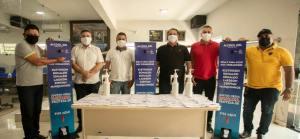 Vereadores doam metade de seus salários para compra de seis mil máscaras e cem litros de álcool em gel para população de Coremas