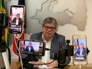 João Azevêdo revela estudos que planejam retomada econômica com parâmetros para cada município