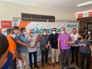 Avante reafirma unidade da bancada em evento que celebrou apoio a Cícero Lucena