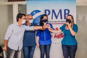 Conforme antecipado pelo Blog, PMB anuncia apoio a Cícero Lucena