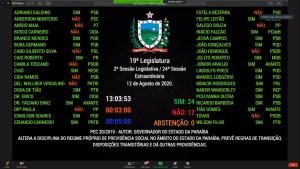 Deputados aprovam texto base da reforma da Previdência na Assembleia