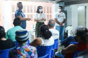 Ao lado do vereador Humberto Pontes, Edilma Freire defende ações em infraestrutura e moradia
