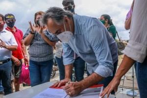 Luciano Cartaxo autoriza obras e dá início à construção da nova feira livre do Colinas do Sul