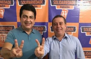 João Almeida e Manoel Júnior marcam convenção do Solidariedade em João Pessoa