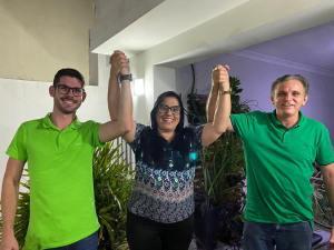 Em Pedras de Fogo, Helena Guedes do Avante será a vice de Lucas Romão após nome despontar nas pesquisas internas