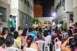 """""""Queremos seguir garantindo habitação de qualidade para nossa gente"""", defende Edilma Freire em reunião no Vista Alegre"""