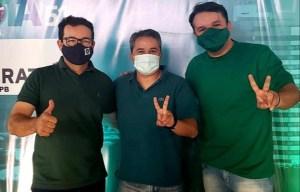 Efraim participa de convenção conjunta DEM e Patriota em Patos, e acredita na vitória das oposições