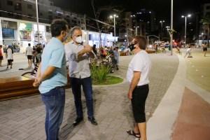 Luciano Cartaxo entrega Largo de Tambaú e cria novo espaço de convivência integrado à Avenida Passeio Epitácio Pessoa