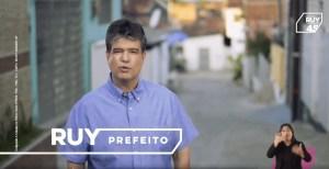 Guia eleitoral mostra ações e trabalho de Ruy em João Pessoa