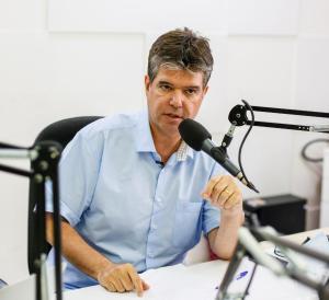 """Ruy sobre reunião com Nilvan Ferreira: """"Tenho uma boa relação com ele"""""""